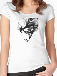 cool sketch 2 Women's Fitted Scoop T-Shirt