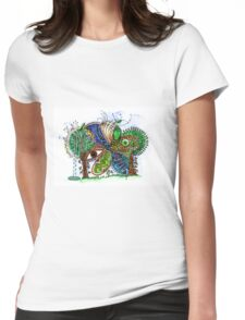 The Forest Womens Fitted T-Shirt