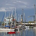 Falmouth Harbour and Docks by Rod Johnson