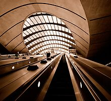 Escalators II by Lea Valley Photographic
