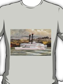 The Robert E Lee Paddle Wheeler 1866 - all products T-Shirt