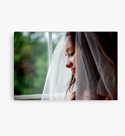 Beautiful Bride!  Canvas Print
