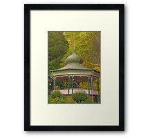 Pagoda in the Park Framed Print