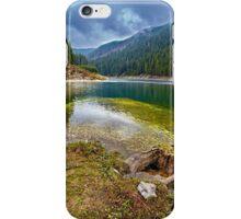 Galbenu lake in Romania iPhone Case/Skin