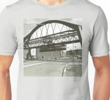 Vintage Wuppertal Floating Train Photo Unisex T-Shirt