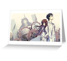 steins;gate Greeting Card