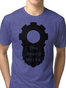 Beard Works Logo Tri-blend T-Shirt