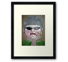 That Woman Framed Print