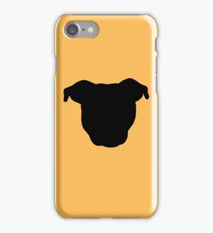 Black Pittie iPhone Case/Skin