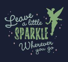 Leave a Little Sparkle Wherever You Go Kids Tee
