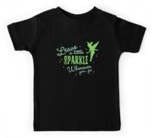 Leave a Little Sparkle Wherever You Go Kids Tee