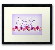 Trish Framed Print