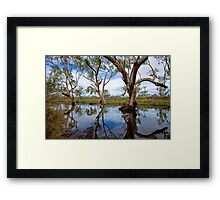 Washing of the souls Framed Print