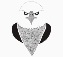 Eagle black and white Kids Clothes