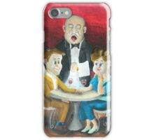 The Singing Waiters iPhone Case/Skin