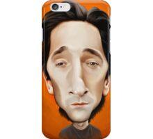 Adrien Brody caricature iPhone Case/Skin
