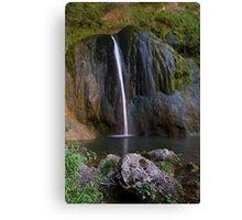 Cascade de Courmes - Gorge du Loup Canvas Print