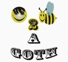 happy 2 bee a goth by gruntpig