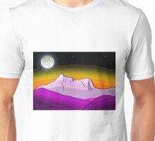 Mount Warning By Moonlight Unisex T-Shirt
