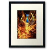 From the ashes... Framed Print
