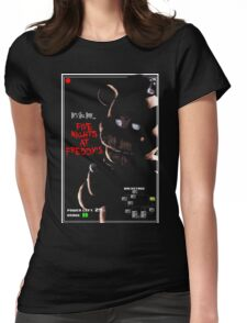 Five Nights at Freddy's  Womens Fitted T-Shirt