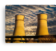 Tinsley Viaduct Cooling Towers Canvas Print