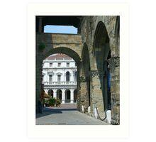 Bergamo, Italy Art Print