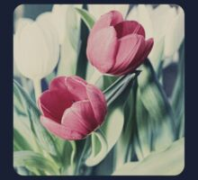 Twin Tulips in Pastel Pink Kids Clothes