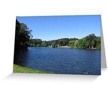 Lake Daylesford Greeting Card