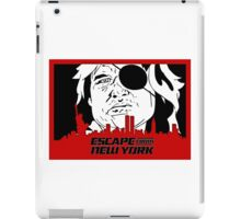 Escape From New York. iPad Case/Skin