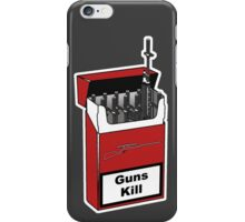 Guns Kill iPhone Case/Skin