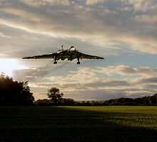 Vulcan Inbound  by J Biggadike