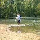 Boy on the Beach by tkwist