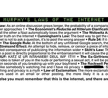 Murphy's Laws of the Internet by AmazingRobyn