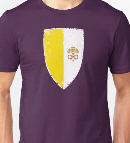Flag of Vatican Unisex T-Shirt