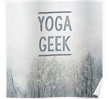 Yoga Geek Poster