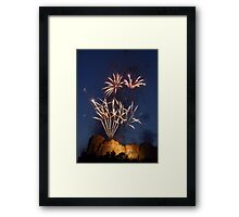 Rushmore 4th Framed Print