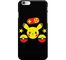 Pocket monster simple with pokeball iPhone Case/Skin