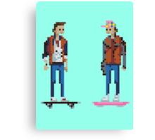 Pixel paradox Canvas Print