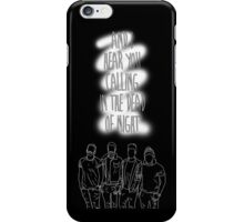 Bastille // Hear you calling iPhone Case/Skin