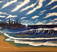 Surfers Paradise by artbynkr