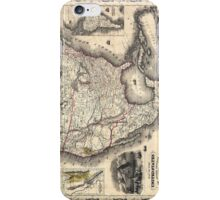 United States in 1849 iPhone Case/Skin