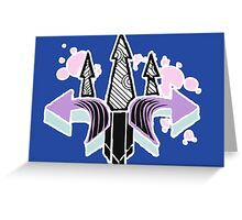 Graffiti Arrows Greeting Card
