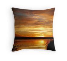 Sunset at Paradise Throw Pillow