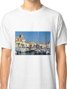 View Across La Ciotat Bay, Provence, France Classic T-Shirt
