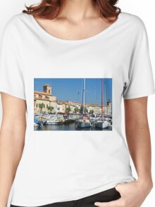 View Across La Ciotat Bay, Provence, France Women's Relaxed Fit T-Shirt