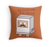Professor Throw Pillow