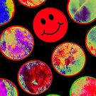 Psychadelic Smiley by CherishAtHome
