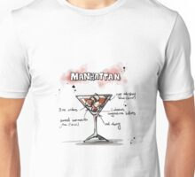 Cocktail - Manhattan Recipe Unisex T-Shirt