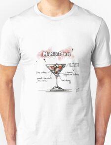 Cocktail - Manhattan Recipe T-Shirt